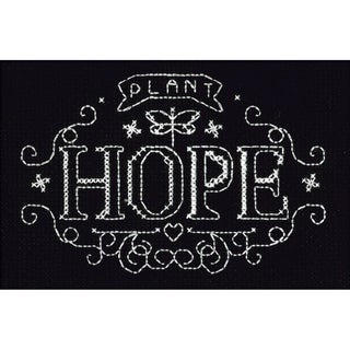Plant Hope Counted Cross Stitch Kit4inX6in 14 Count
