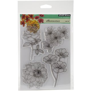 Penny Black Clear Stamps 5inX6.5in SheetEfflorescence
