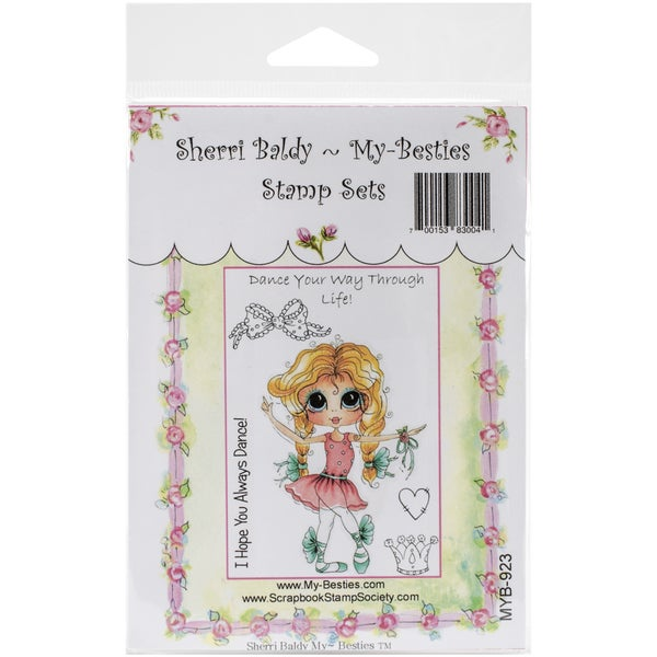 My Besties Clear Stamps Set 4inX6inDance Your Way Through Life
