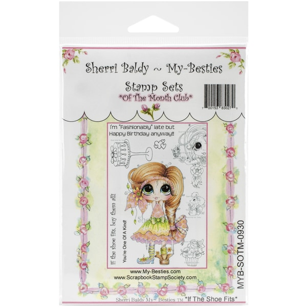 My Besties Clear Stamps Set 4inX6inIf The Shoe Fits