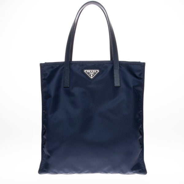 red prada purse price - Prada Vela Blue Nylon Tote - 17285260 - Overstock.com Shopping ...