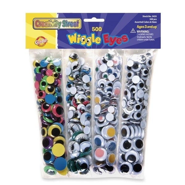 ChenilleKraft Wiggle Eyes (Set of 500)