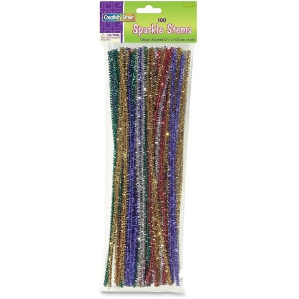 ChenilleKraft Jumbo Sparkly Stem Pipe Cleaners (Box of 1,000)