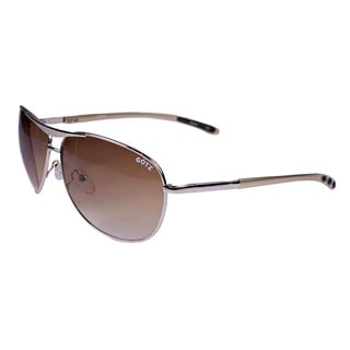 Andy Gotz Goldtone Aviator Sunglasses