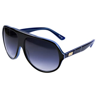 Goetz Switzerland Black with Blue Line Sunglasses