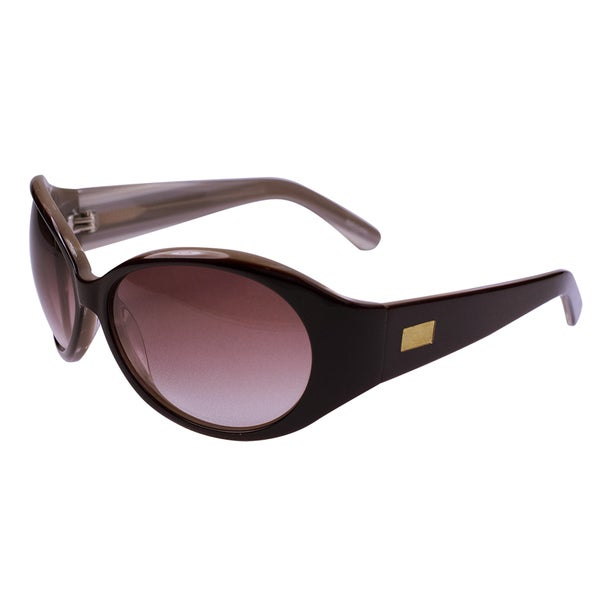 Brown and Black Acetate Sunglasses