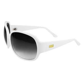 White Gradient Acetate Sunglasses