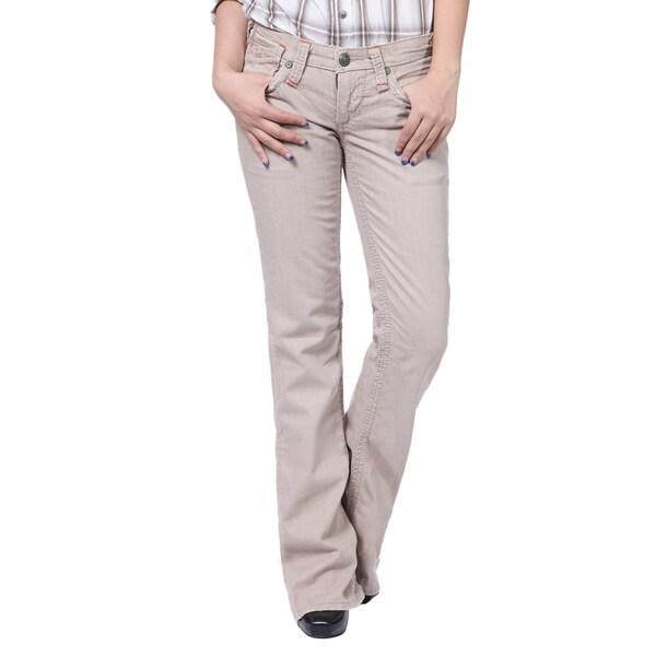 Stitch's Women's Denim Slim Boot-cut Trousers