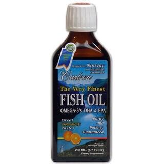 Carlson The Very Finest Orange 6.7-ounce Fish Oil
