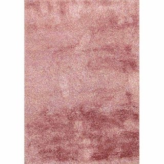 Lyric Bubblegum Hand Knotted Shag Rug