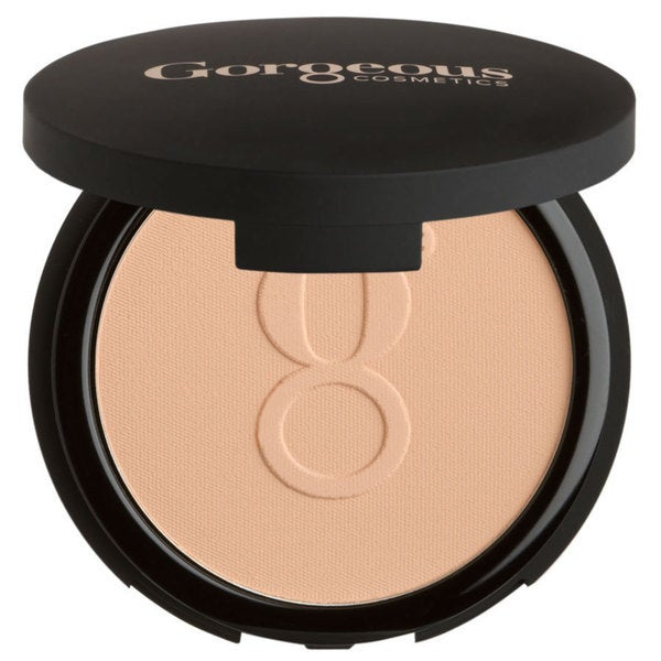 Gorgeous Cosmetics Powder Perfect 04-PP Medium Beige Pressed Powder