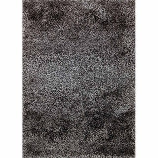 Lyric Steel Gray Hand Knotted Shag Rug