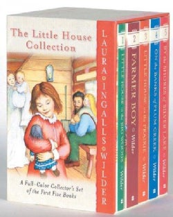 The Little House Collection: A Full-Color Collector's Set of the First Five Books: Little House in the Big Woods,... (Paperback)