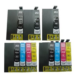11-pack Replacing T252XL Ink Cartridge for Epson WF-3620 WF-3640 WF-7110 WF-7610 WF-7620 Printer