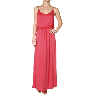 Tabeez Women's Blouson Maxi Dress
