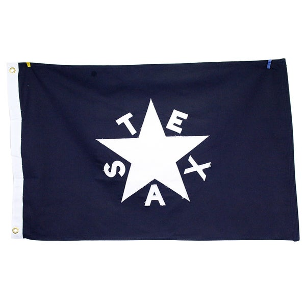 2x3 Cotton Zavala De Lorenzo Texas Republic State Flag