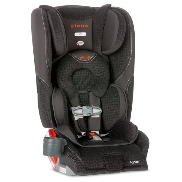 Diono Rainier Convertible Car Seat Plus Booster in Black Houndstooth