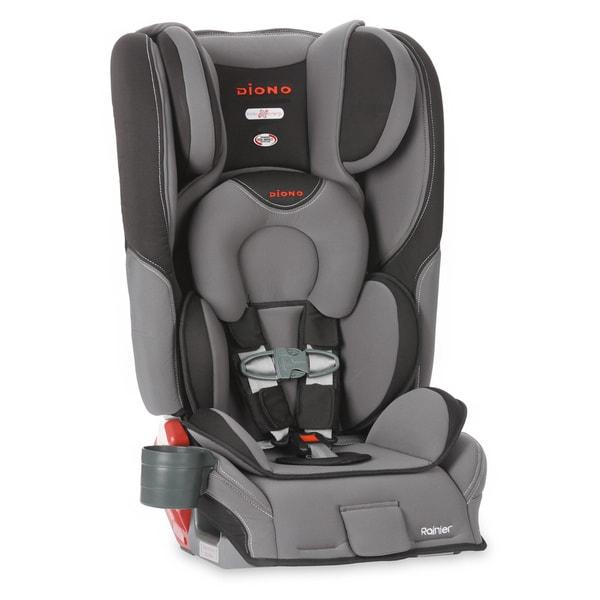Diono Rainier Convertible Car Seat Plus Booster in Graphite