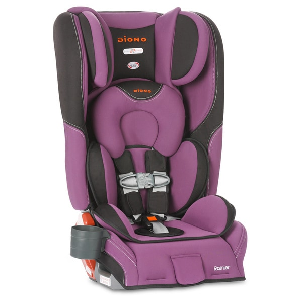 Diono Rainier Convertible Car Seat Plus Booster Seat in Orchid