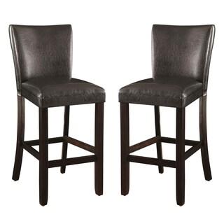 Heritage Cushion Upholstered Bar Stools (Set of 2)
