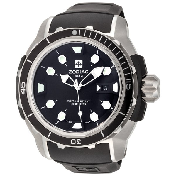 ZODIAC ZO8601 Watch ZMX-6 Super Sea Wolf Mens