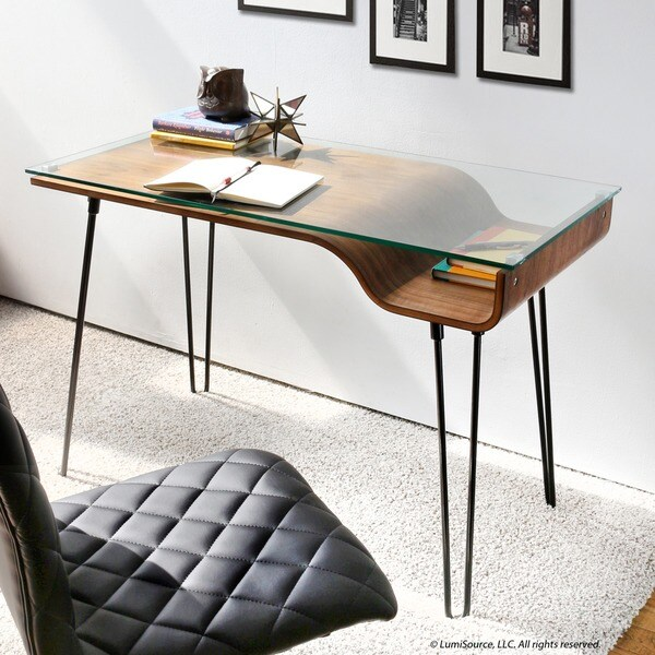 Lumisource Avery Desk 17286112 Overstock Com Shopping