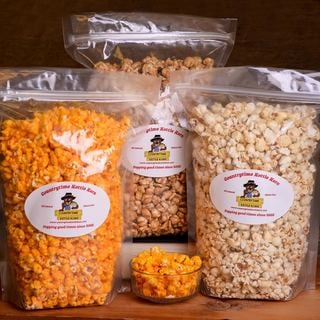 Countrytime Kettle Korn One-gallon Sample Pack (Set of 3)