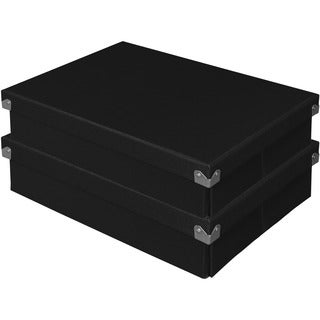 Samsill Pop n' Store Document Box (Set of 2)