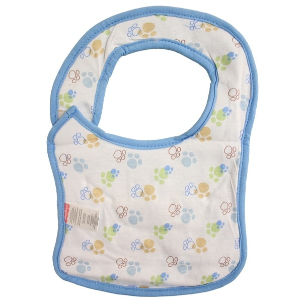 Fisher-Price Embroidered Reversible Baby Feeder Bib