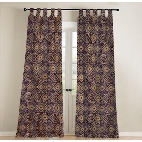 Sandy Wilson Chenille Curtain Single Panel