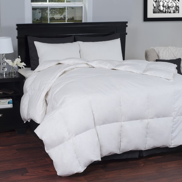 Windsor Home White Cotton Down Comforter (As Is Item)