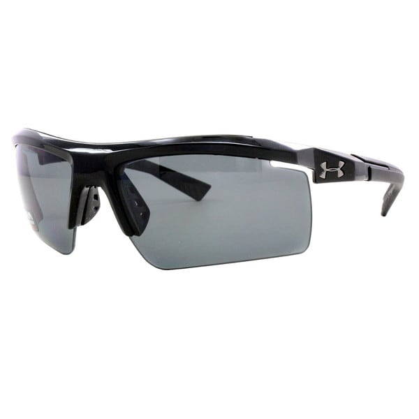 Under Armour Core 2.0 Shiny Black Polarized Sunglasses 15420376