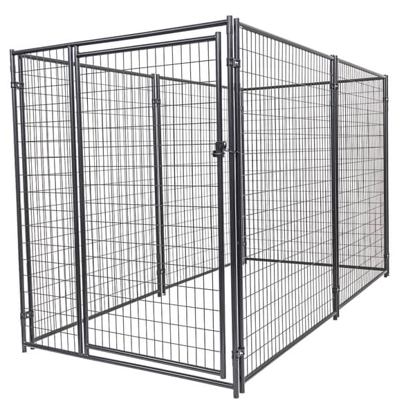 Lucky Dog 6'H x 5'W x 10'L Modular Kennel Welded Wire kit