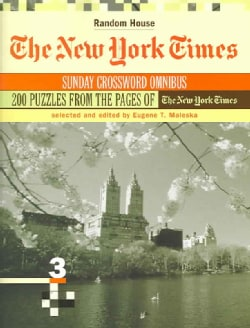 The New York Times Sunday Crossword Omnibus (Paperback)