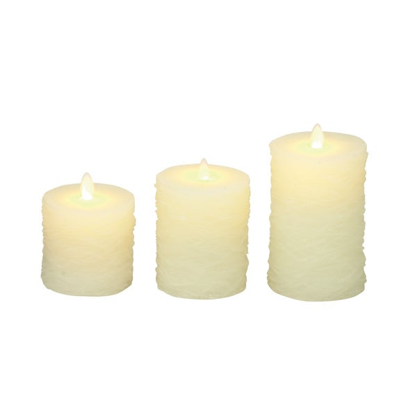 Awesome Flameless Candle with Remote (Set of 3)