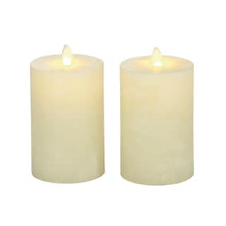 Superb Flameless Candle with Remote (Set of 2)