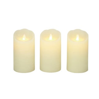 Rare Flameless Candle with Remote (Set of 3)