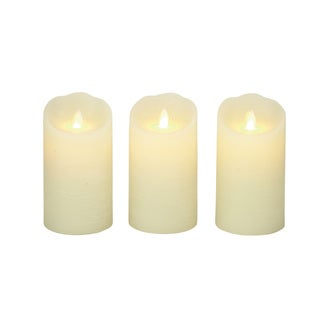 Copper Grove Beresford Rare Flameless Candle with Remote (Set of 3)