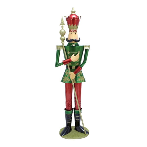 Colorful Kings Soldier Nutcracker Decorative Figurine