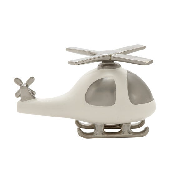 Fabulously Designed Ceramic Helicopter Decor