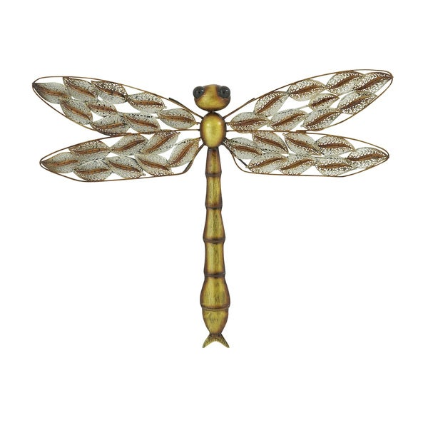 Gorgeous Looking Metal Dragonfly