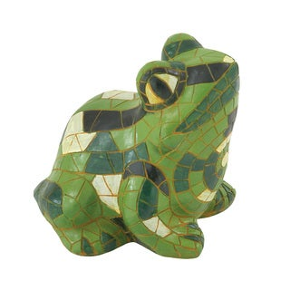 Creatively Styled Green Frog Decor