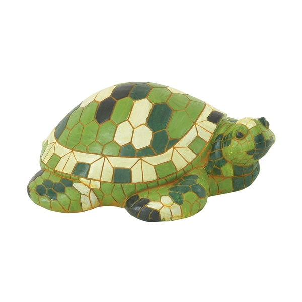Endearing Green Turtle Decor