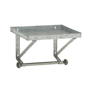 Sturdy Metal Wall Shelf with Rod