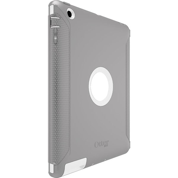 OtterBox Defender Series Grey/ White Case with Screen Protector and Stand for Apple iPad 2/ 3/ 4