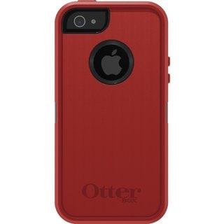 OtterBox Defender Series Red/ Black Phone Case for Apple iPhone 5/ 5S