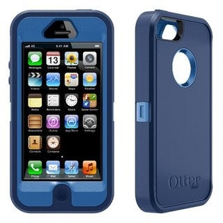 OtterBox Defender Series Blue/ Navy Phone Case for Apple iPhone 5/ 5S