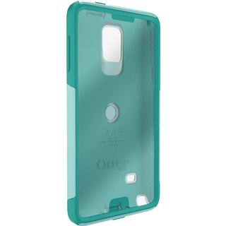 OtterBox Commuter Series Aqua Sky Phone Case for Samsung Galaxy Note 4 with Frustration-Free Packaging