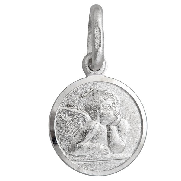 Sterling Silver Cherub Necklace