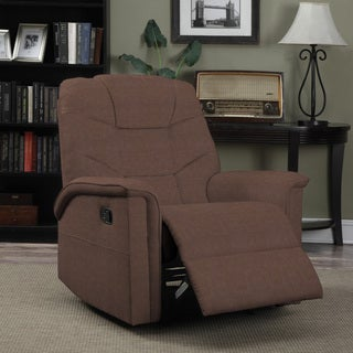 ProLounger Dark Brown Microfiber Wall Hugger Recliner